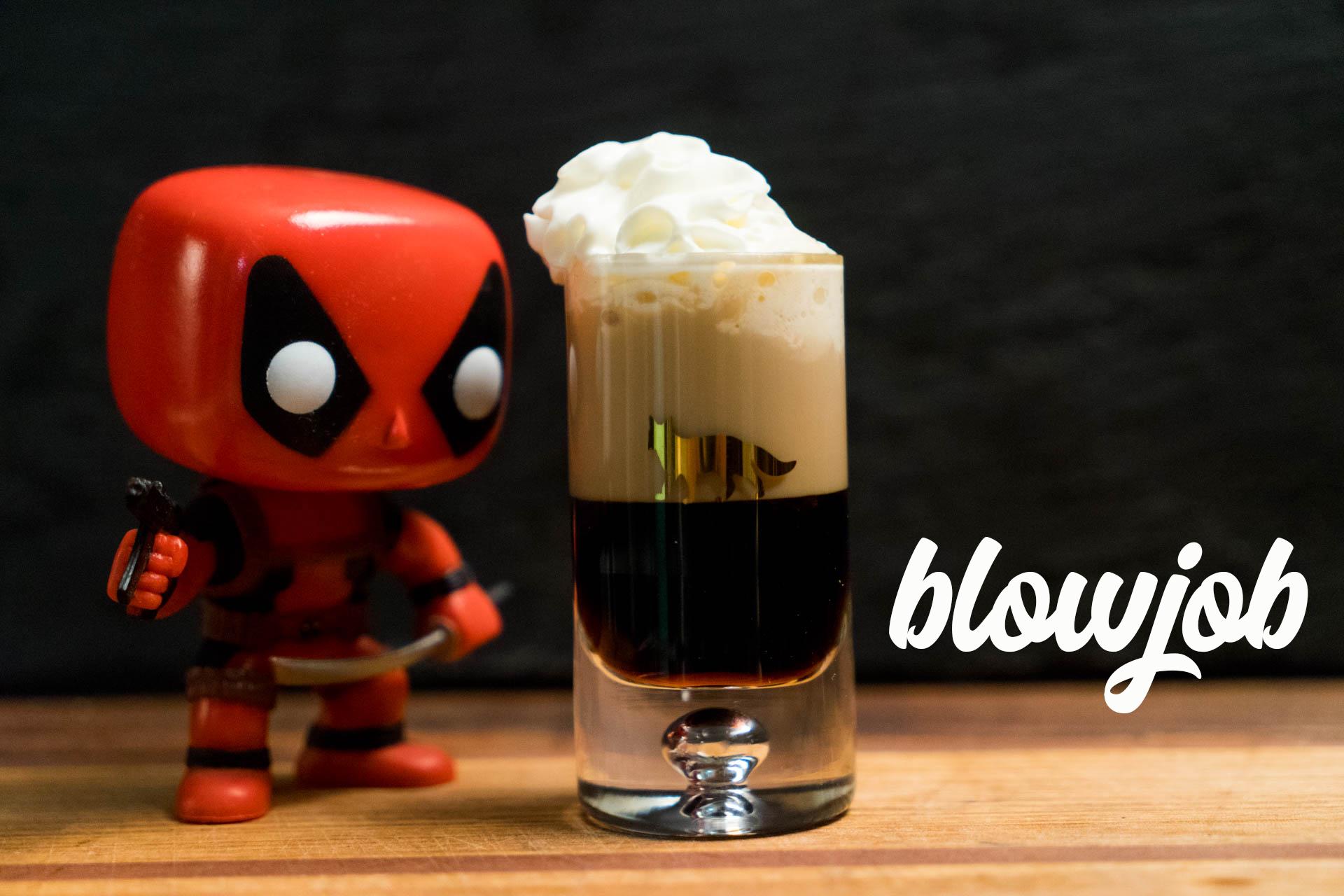 Blowjob shot recipe