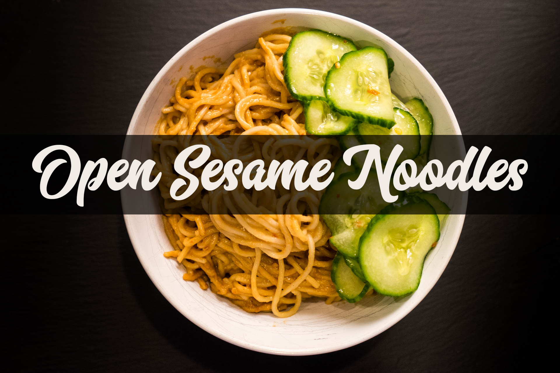 Open Sesame Noodles